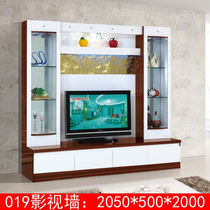 Wood Led Tv Wall Units Designs 019 Modern Tv Wall Unit