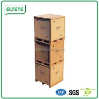 Electronic appliances packaging solution honeycomb box pallet