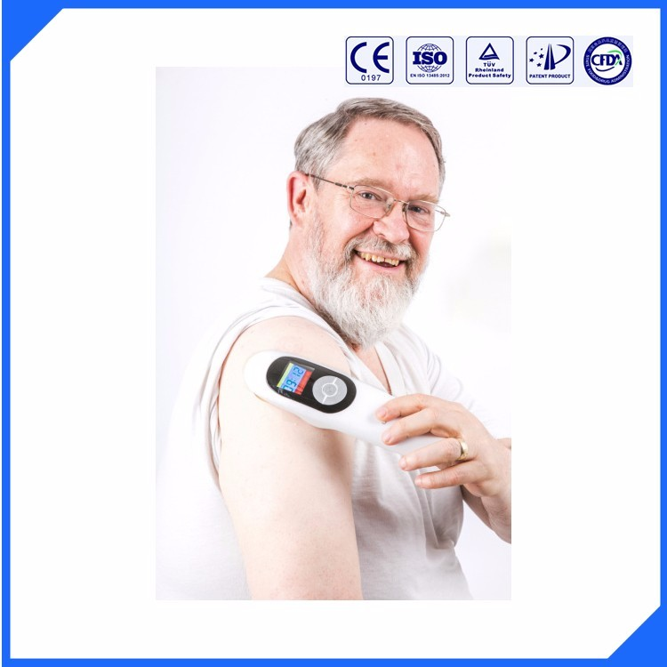 Portable apparatus cold laser therapy device for joint neck knee back shoulder Pain