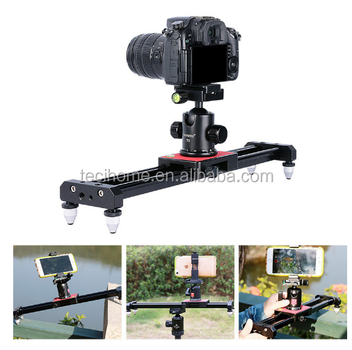 Ulanzi SL-40 15in/40cm Portable Compact Track dolly Slider Rail System DSLR DV Movie Mini Video Camera Track dolly Slider