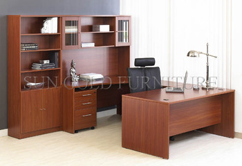 Modern Wooden Office Furniture Desk Credenza Shell Suit (SZ OD002)