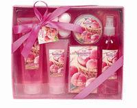 Large bath paper box spa gift bath set
