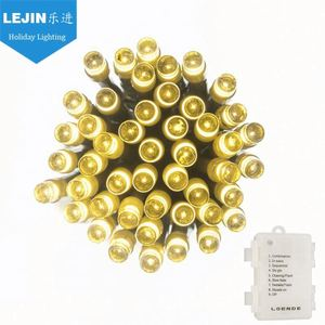 New design yellow 8 function christmas light controller With high quality outdoor decoration