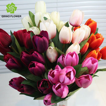 decoration artificial tulip flower artificial flower parts