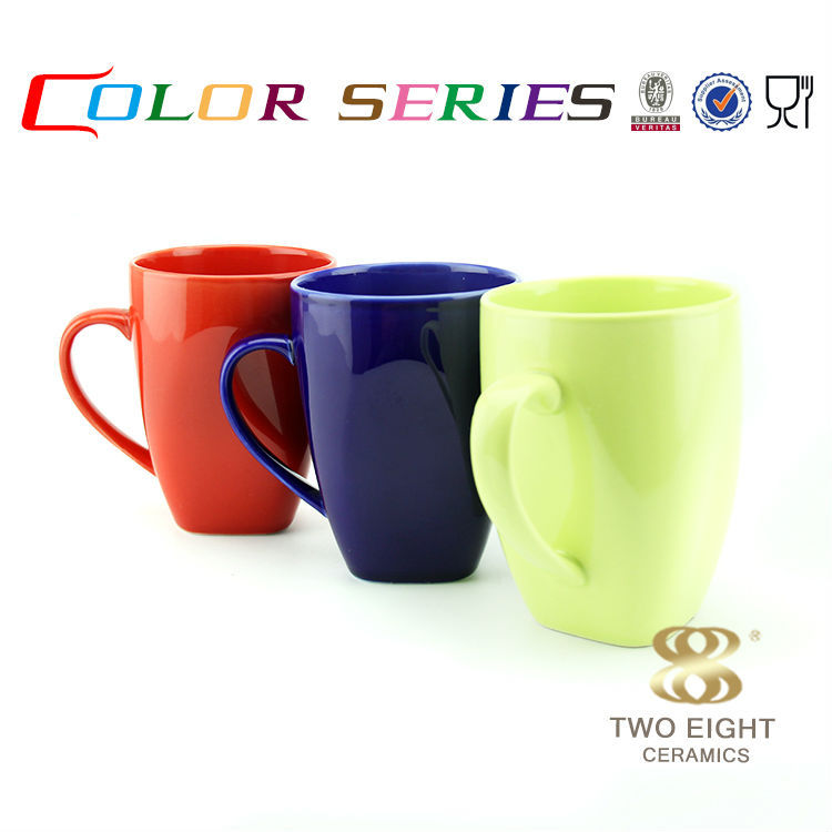 Wholesale mighty 8.5*11 cm eco friendly drinking printed color inside coffee mug