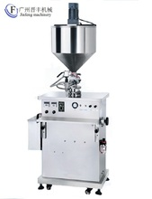paste filling machine with mixing hopper