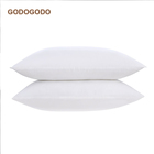 Wholesales Soft 100% Cotton Hypoallergenic Duck Down Filling Pillows White Goose Down Pillow inners For Hotel Linen and Home