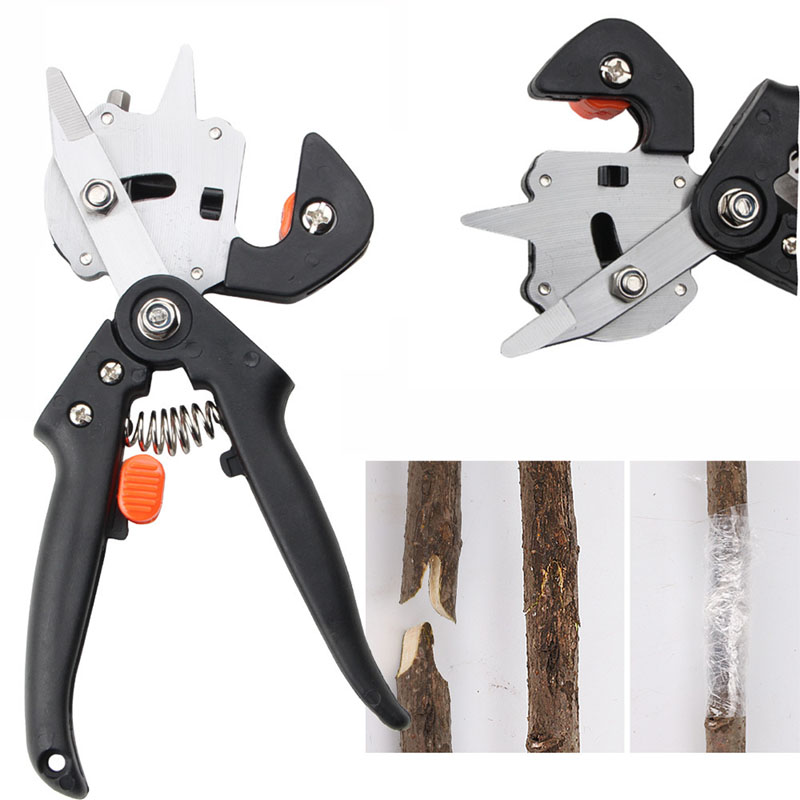 Grafting Machine Garden <strong>Tools</strong> with 2 Blades Tree Grafting <strong>Tools</strong> Secateurs Scissors Grafting <strong>Tool</strong> Cutting Pruner High Quality