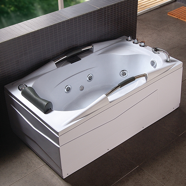 Constar Freestanding Portable Air Jet Bubble Deep Spa Whirlpool Bathtub