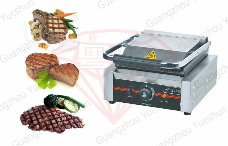 electric industrial panini grill contact grill commercial. Black Bedroom Furniture Sets. Home Design Ideas