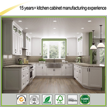 Factory Direct Good Quality White Painted Shaker All Wood RTA Kitchen Cabinets