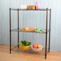 Bathroom Wire Shelf Rack Design Ideas