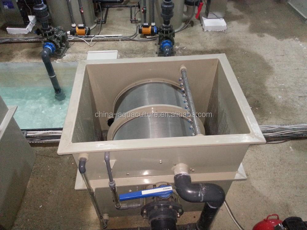 Tambor rotatorio filtro para estanque koi imagen for Filtro estanque koi