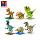 ABS hot toys mini blocks dinosaur building blocks
