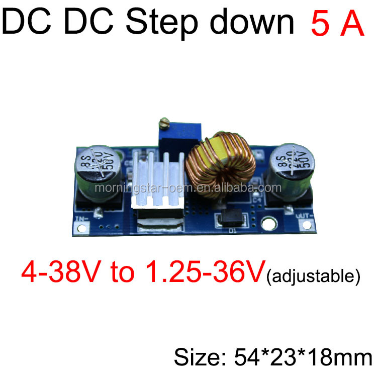DC-DC Buck Converter 12V//24V to 5V 4A  Voltage Car Power Supply