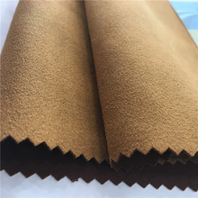 Polyester Spandex Air Layer Suede Fabric for Garments in Autumn and Winter