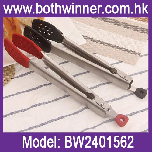 Food tongs serving tongs ,h0t2XT silicone metal food tongs for sale
