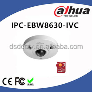 Dahua IP67 IK10 6MP Panoramic IR 10m Fisheye Camera Intelligent Function IPC-EBW8630-IVC