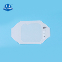 PU 6x7cm iv cannula sizes Medical Wound Dressing good breathability waterproof transparent