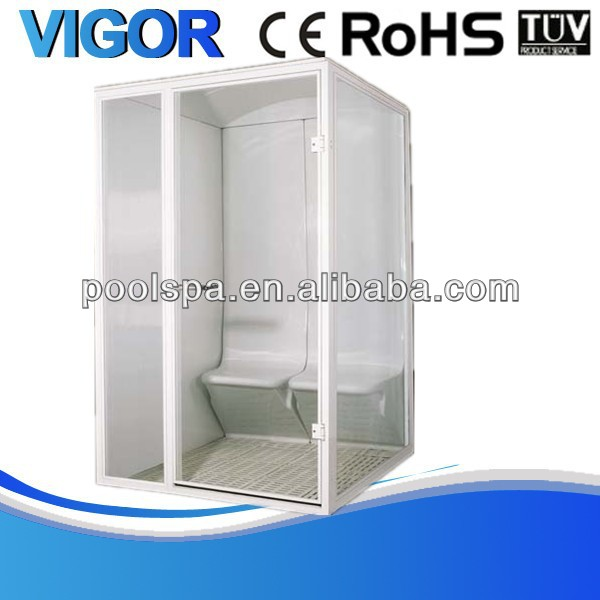 2014 hot sale steam sauna cabinet,steam sauna room,indoor sauna steam room