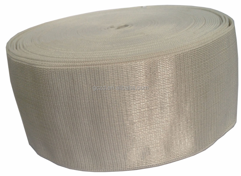 "Glazing Shiny Side Waistband 2"" Polyester Fabric Grosgrain Elastic Ribbon Decorative Band for Garments Wholesales"