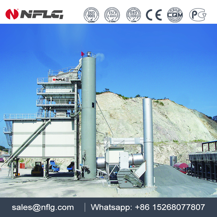 Supply bitumen batch plant and related products