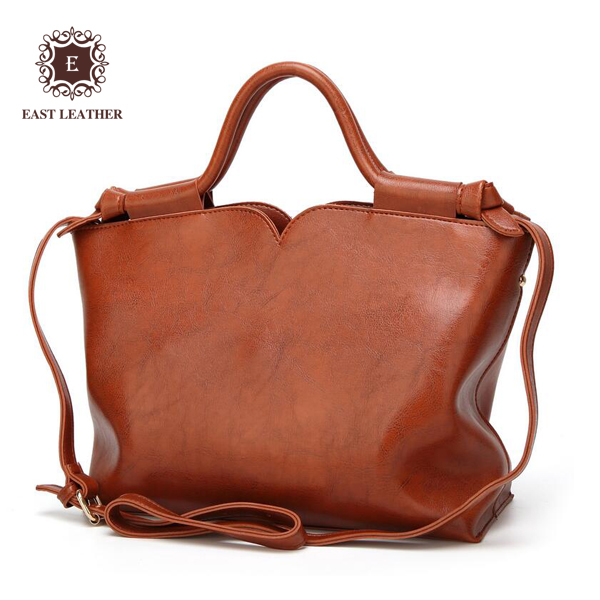 E2462 Alibaba China suppliers Unique style High quality PU leather tote handbags