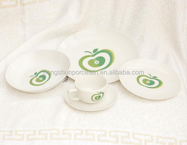 alta calidad vajilla de porcelana fina 20 unids compras por volumen de china