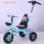 Kindergarten safety toy high quality three wheel umbrella mini bike sports trike folding kids for sale with handle