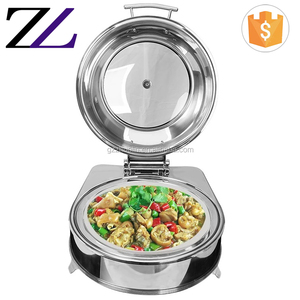 Restaurant kitchen equipment dubai rechaud electric and burner cheap hot buffet stainless steel food display warmers for parties