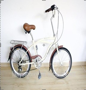 Mini Chopper Style 20 Inch beach cruiser bicycle for Lady