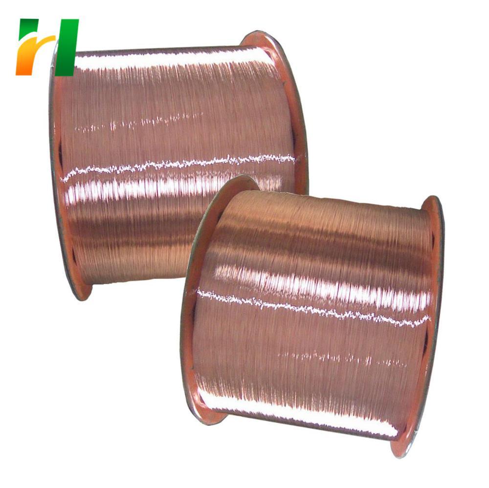 0.18 MILLIMETRI di Rame rivestimento in alluminio CCA filo