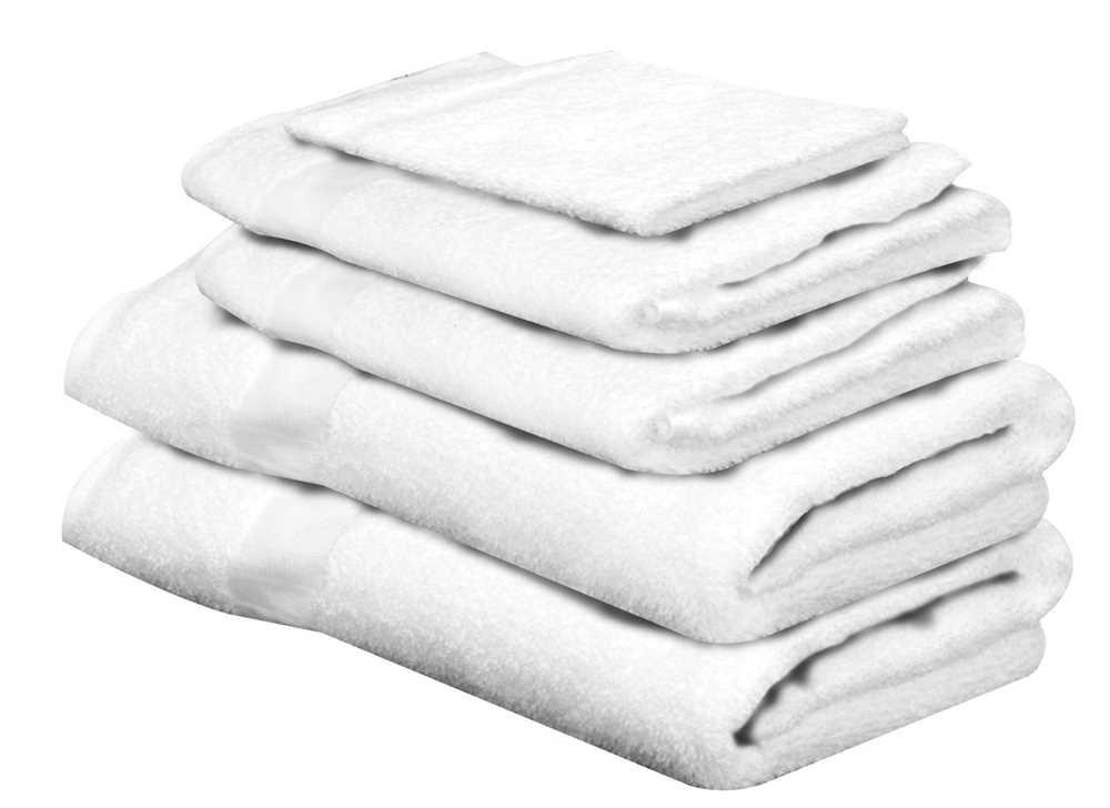 "National Brand Alternative 831065 Bath Towel 25 In X 50 In White, 12 Pack, 1"" x 1"" x 1"""