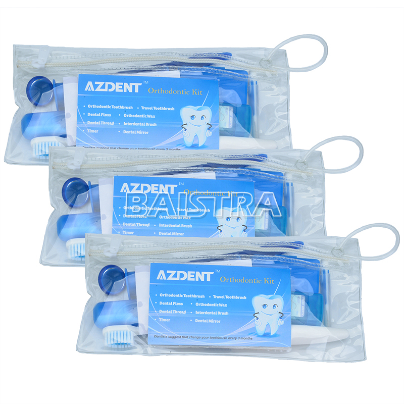 CE aprovado kit de higiene oral/ortodôntico dental kit limpo