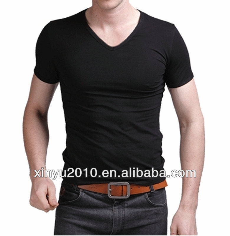 Printable Men's Slim Fit/Body Fit Lycra Blended Short Sleeve/sleeveless T-Shirts With Custom Label And Tags