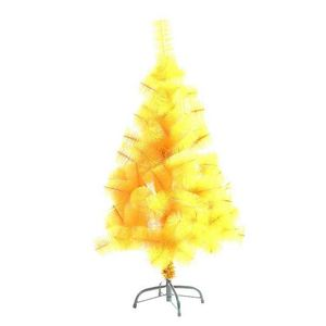 Professional made Xmas ornament Personalized yellow fake christmas tree