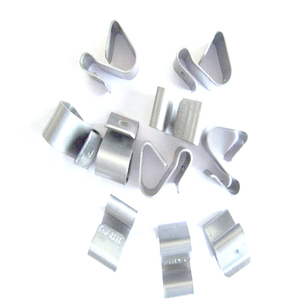 China factory OEM aluminum alloy stainless steel clips, sofa spring clips, small metal shrapnel