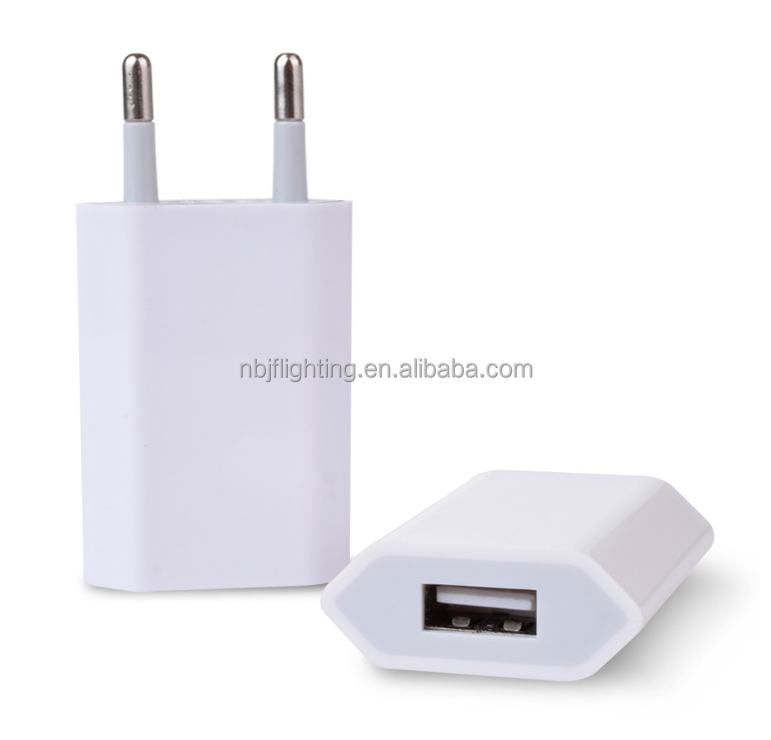 2018 smart phone charger <strong>adapter</strong> 1 usb 1a travel emergency wall charger with 1 usb ports