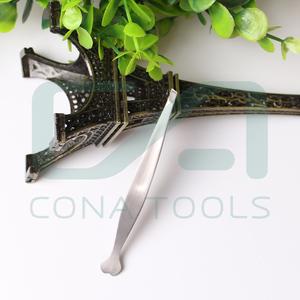 Personalized heart shape stainless steel tweezers