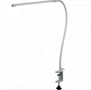 Clamp Mounted Led Desk Lamp Flexible