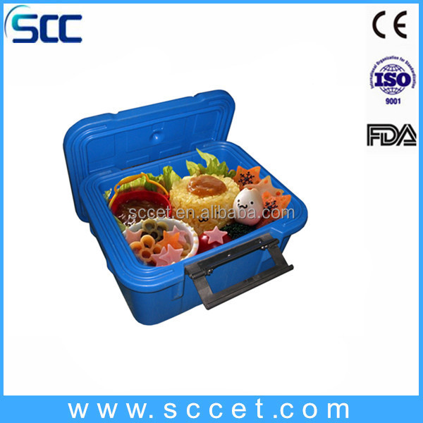 PE&PU insulated hot box food container approved by CE,FDA,ISO-2001,SGS