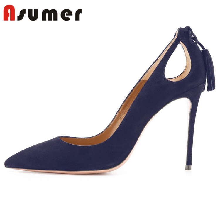 high hot shoes safety sale Asumer heels steel womens pencil toe AdwYAxqBZ