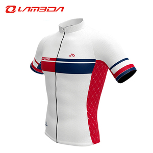 Wholesale sublimation sports T shirt cycling jersey