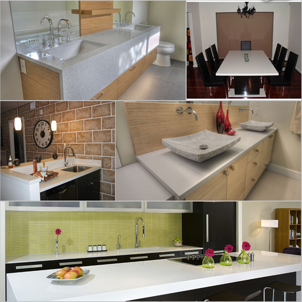Made In China Artificial Korean Stone Solid Surface
