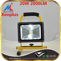 cordless rechargeable 20w led outdoor work light 2000lm led work lam with best price