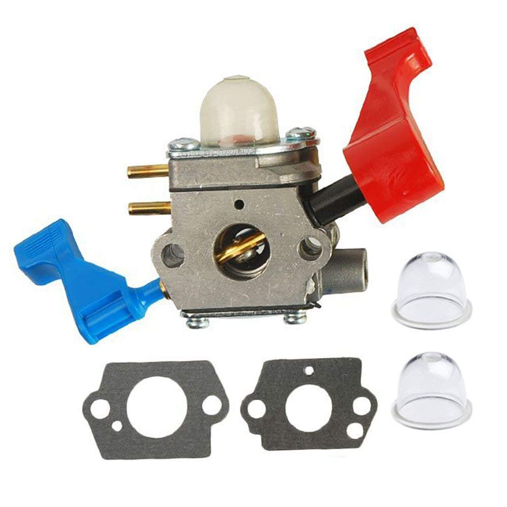 HIFROM Carburetor With Gasket Primer Bulb Repower Kit for Poulan FL1500 FL1500LE Leaf Blower Replace 530071629 C1U-W12A C1U-W12B