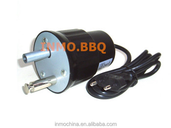 Black plastic bbq rotisserie motor buy black plastic bbq for Bbq spit motors electric
