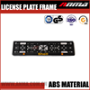 Durable european universal motorcycle license plate frame