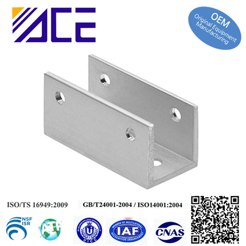 cheap aluminum stainless steel metal u shaped corner brackets