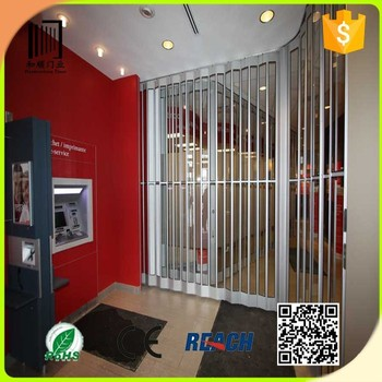 Cheap And High Quality Interior Plastic Folding Doorstransparent